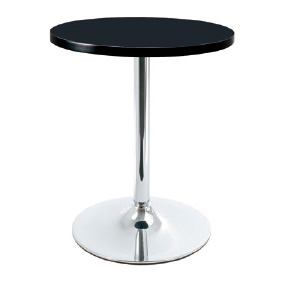 Coltine bistro black kitchen dining table