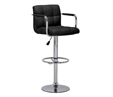Prime Adj Bar Chair - Black