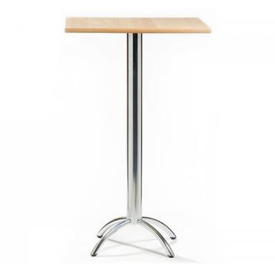 barluna natural square tall poseur table