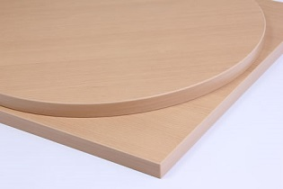 Taybon Laminate Beech Top - round, square, oblong,small,large table tops