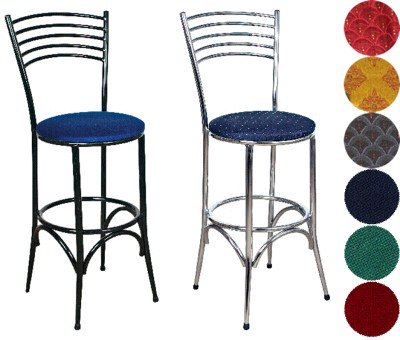 Napa Chrome Kitchen Bar Stool - Padded or Unpadded Seat Option