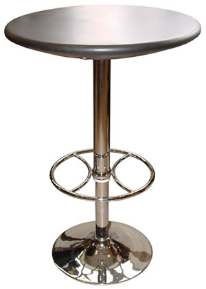 caroney tall kitchen bar adjustable height poseur table