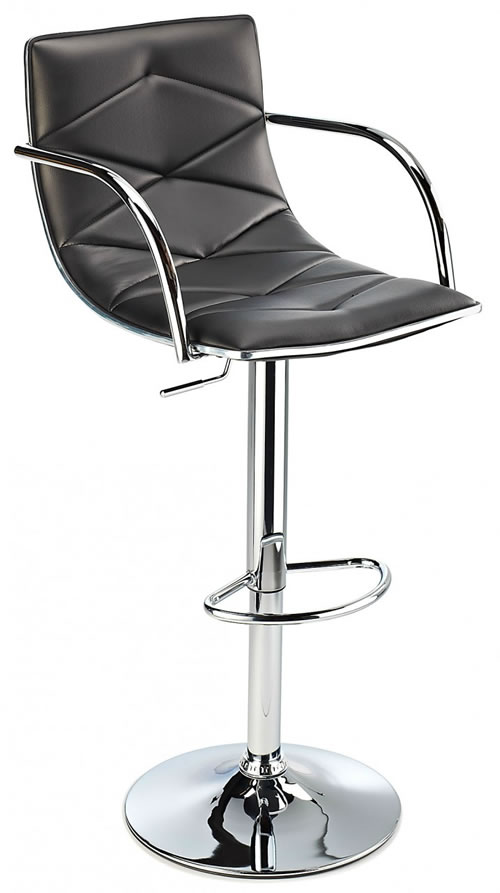 Berkley Quality Kitchen Bar Stool- Black