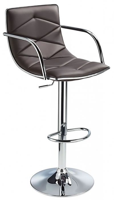 Berkley Quality Kitchen Bar Stool- Brown