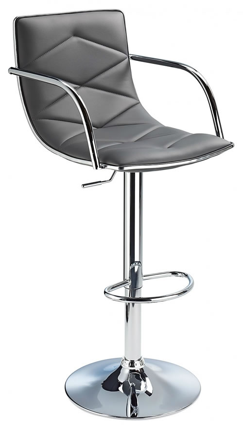 Berkley Quality Kitchen Bar Stool- Grey