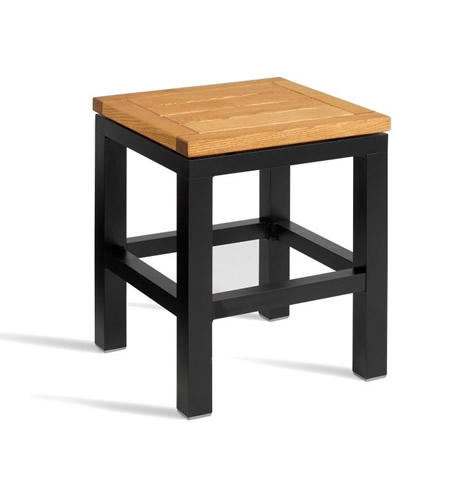Antarctic Low Kitchen Bar Stool - Fixed Height Fully Assembled