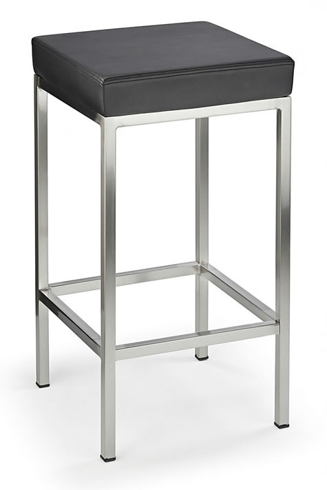 fernowy brushed satin kitchen breakfast bar stool