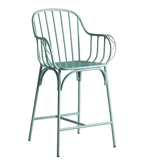 Dansoe aluminium bar stool indoor outdoor use