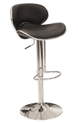 Susin Stylish breakfast kitchen bar stool padded seat and backrest