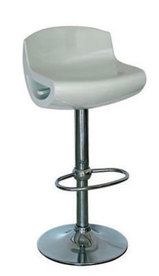 Skeren white breakfast adjustable kitchen club bar stool