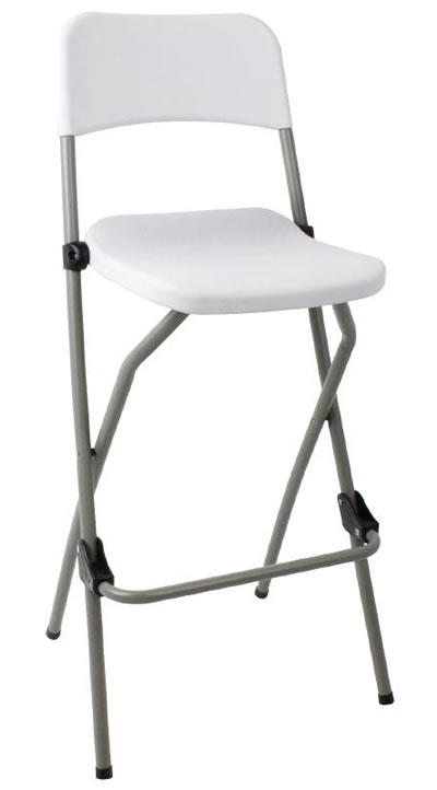Bazon Beech folding bar stool