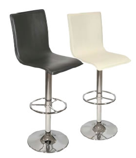 Frewin high back bar stool
