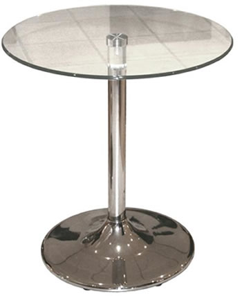 tonker 65 glass table