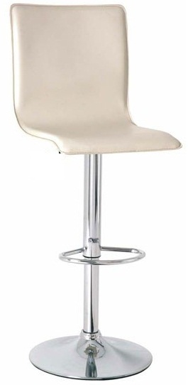 Conrad Cream Height Adjustable Kitchen Bar Stool