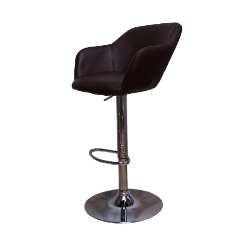 Hardoy Brown Kitchen Breakfast Bar Stool Height Adjustable