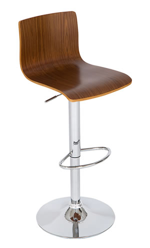 layvon medium wooden seat breakfast bar stool