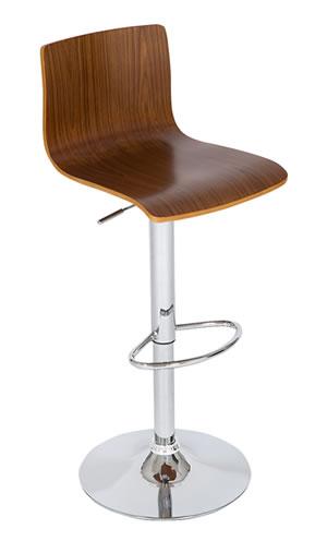 layvon medium wooden seat breakfast bar stool