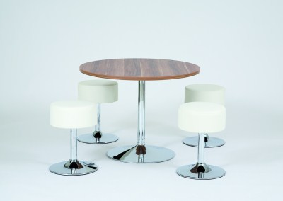 Lorr Round Bistro Table