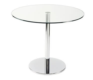 leyton glass table