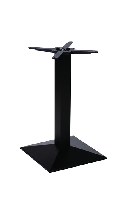 Marla cast iron black table base made to measure size dining, poseur height