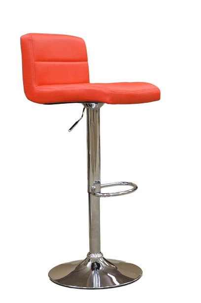 Nifty Bar Stool - Red