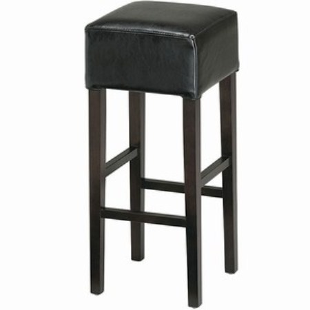 Palm Leather Padded Stool