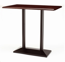 Dirk Twin Poseur  Tall Table - Rectangle