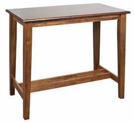 Flank Wood Tall Poseur Table - Rectangle
