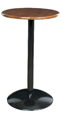 Malago Black and Wood Poseur - Round Large