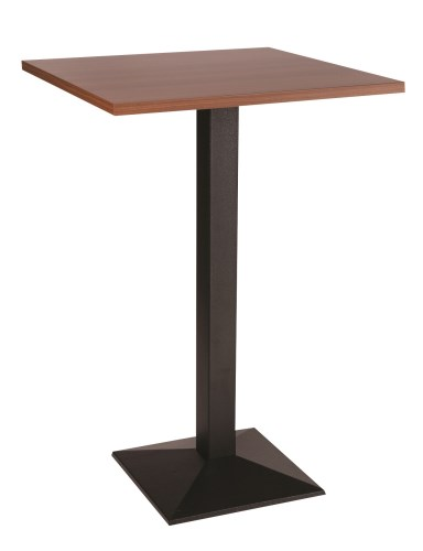 Quinn Cast Iron Medium Poseur Table Base with Various Size and Finish Tops