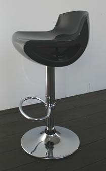 Saturn Kitchen Bar Stool ABS Plastic Seat