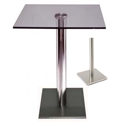 Sitty glass poseur table