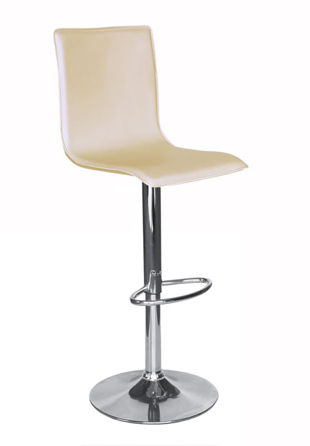 aroza cream kitchen breakfast bar stools with back height adjustable