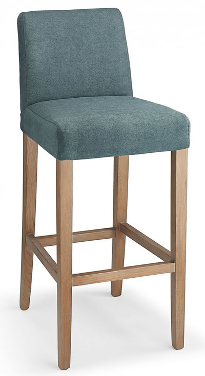 Farzom blue fabric seat kitchen breakfast bar stool wooden  : tobybarcrmmot from www.stoolsonline.co.uk size 400 x 731 jpeg 39kB