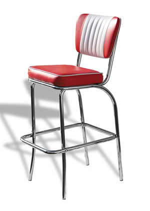 tisoney retro fifties kitchen bar stool