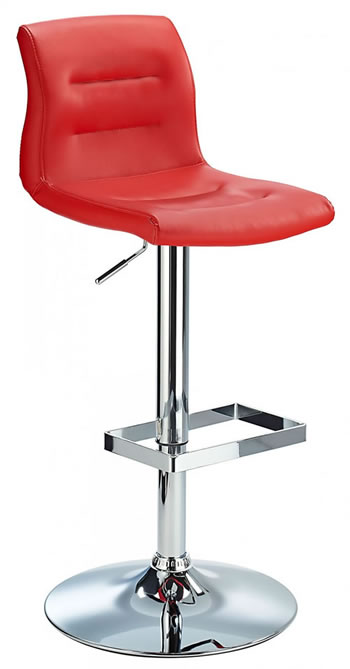 Scaponi Quality Kitchen Bar Stool - Red