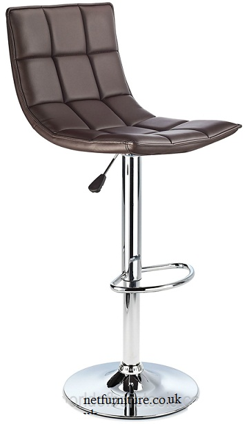 Andrea Quality Kitchen Bar Stool - Brown