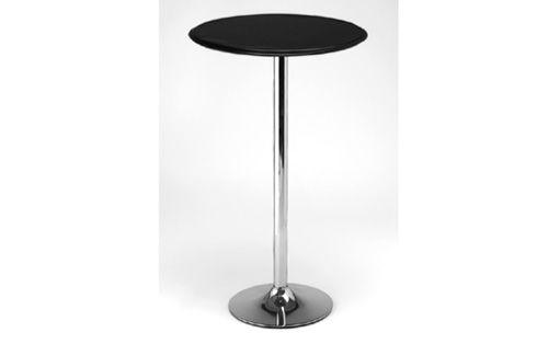 westton black tall kitchen nbst poseur table