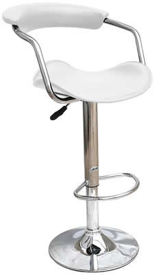 Swerly white stool