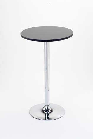 Nayton Black Wood Bar Table