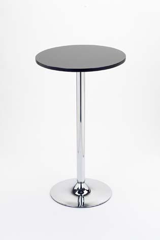 Nayton Black Wood Bar Table