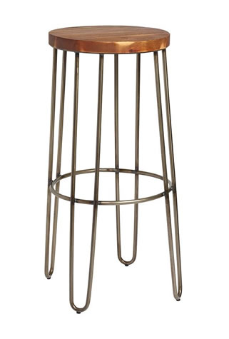 Clapon Industrial style bar stool