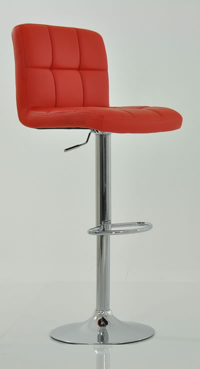 Oceanic Bar Stool - Red