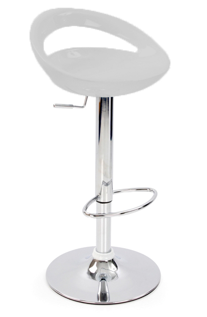 Nuovo Bar Stool - Silver