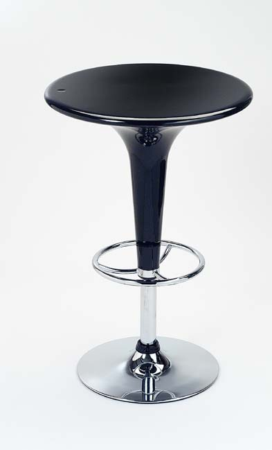 Black Bar Table - Adjustable