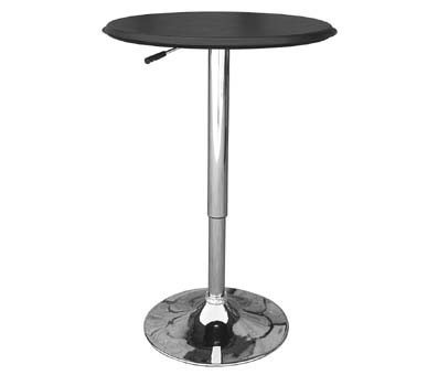 Cumbria Black adjustable table