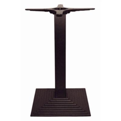 Tali Square Dining Table Base - Black Cast Iron