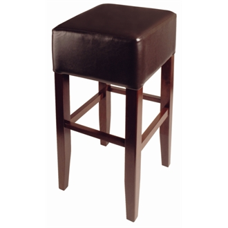 Basanova High Stool - Brown