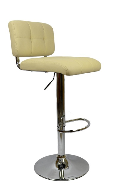 Viterbo Bar Stool - Cream