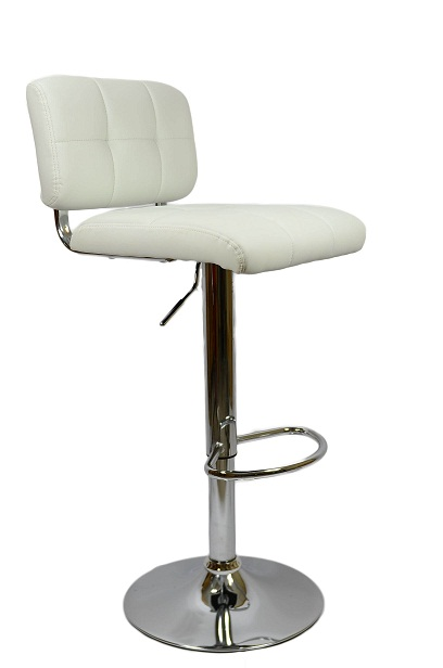 Viterbo Bar Stool - White